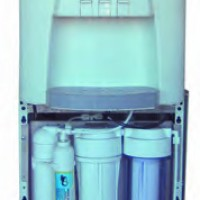 Fuente agua con osmosis inversa